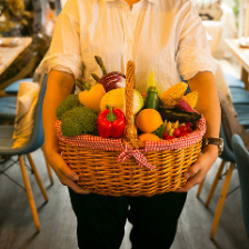神戸市西区の畑から届く季節野菜