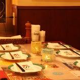 【~40名様】テーブル席