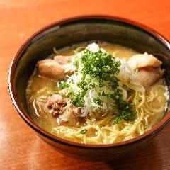 鶏ガラ醤油ラーメン