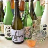 厳選の日本酒をリーズナブルにご提供いたします♪