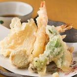 天麩羅~四季彩~(Assorted tempura)