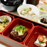 【11月限定!平日20食限定ランチ】味噌デミグラスソース和牛の牛すじハンバーグ御膳