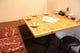 入口の独立したテーブルは最大5名様まで利用可!