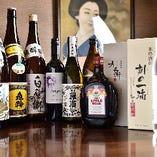 西条の日本酒も豊富にございます