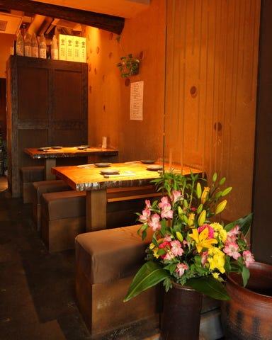 旬の魚と季節のお料理 くすの木 梅田堂島店 店内の画像