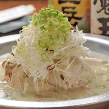 伝統の味!鳥まつ風参鶏湯