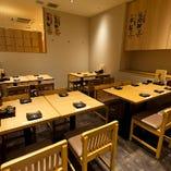 テーブル席!【4名様~6名様 20名テーブル宴会も可能】