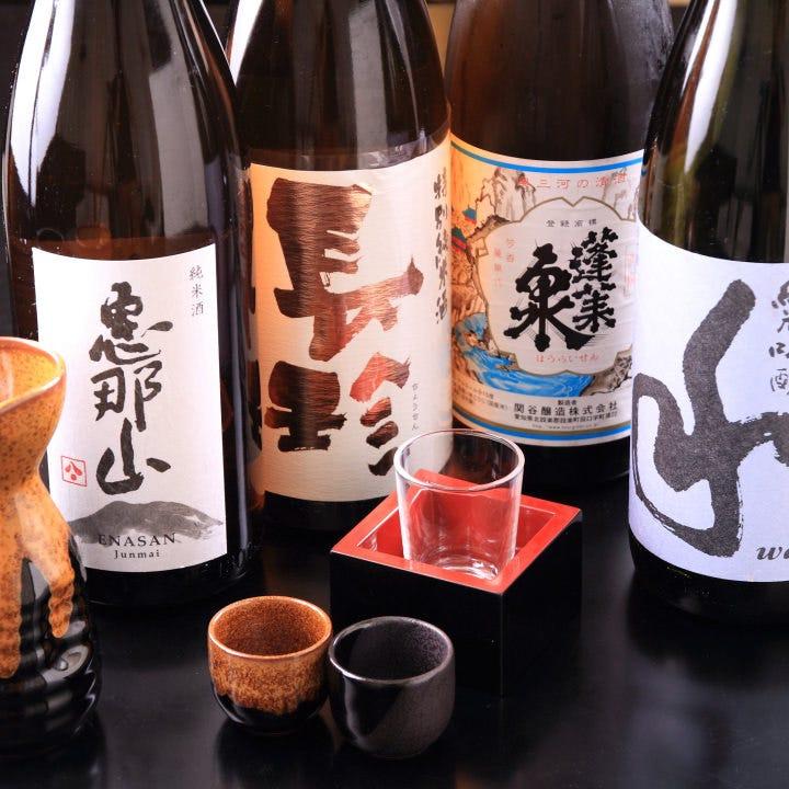 和食をより引き立てる全国各地の銘酒