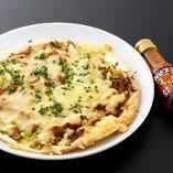 名古屋コーチンのそぼろピザ