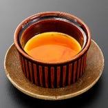 名古屋コーチン卵の焼きプリン