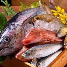 北海道産の豪華な厳選食材が豊富!