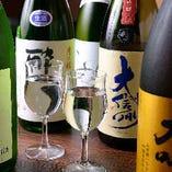 全国の地酒や焼酎の品揃えが豊富◎お好みの一杯をご満喫ください