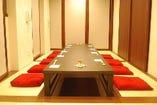 2階新館個室のお席です。