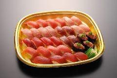 極上まぐろ寿司4人前