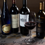 ◆ワイン◆ 100種類を常備するワインセラーから選ぶのが楽しい