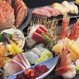 【宴会コース】お料理のみ3000円~5000円 +1000円で飲み放題付けれます。