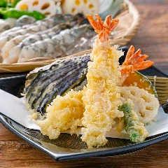 【高田屋名物】大海老の天ぷら盛合せ
