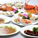 季節の食材で彩る宴会コース料理。