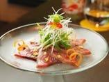 青森県産の鮮度抜群の魚を使用!フリットやカルパッチョをぜひ
