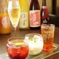 果実酒やノンアルコールも豊富