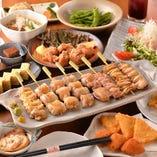 ◆地鶏を堪能できるご宴会コースはお一人様2980円~予算相談OK