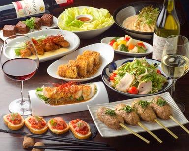 仙台焼き鳥とワインの店 大魔王 Terrace(大魔王テラス) コースの画像