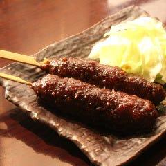 純系名古屋コーチン胸肉の味噌串かつ