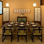 新設の「和室テーブル個室」は周りを気にせずご利用頂けます。