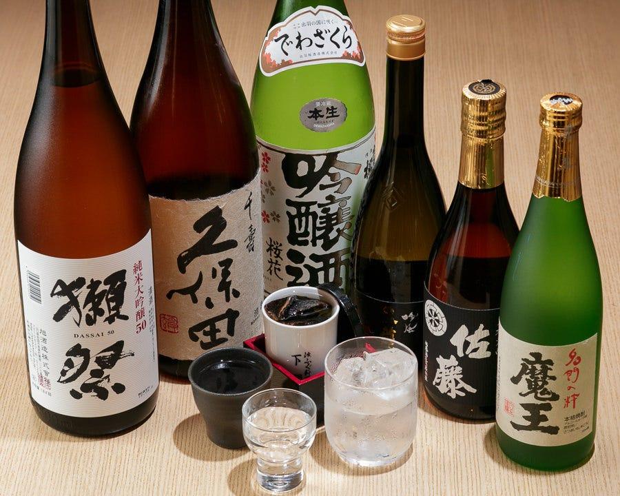 お料理に合う各種地酒をご用意致しております!