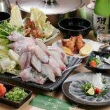 飲み放題付のコース料理が5,000円から!