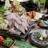 宴会にぴったりな飲み放題付コース料理は5,500円からご用意!