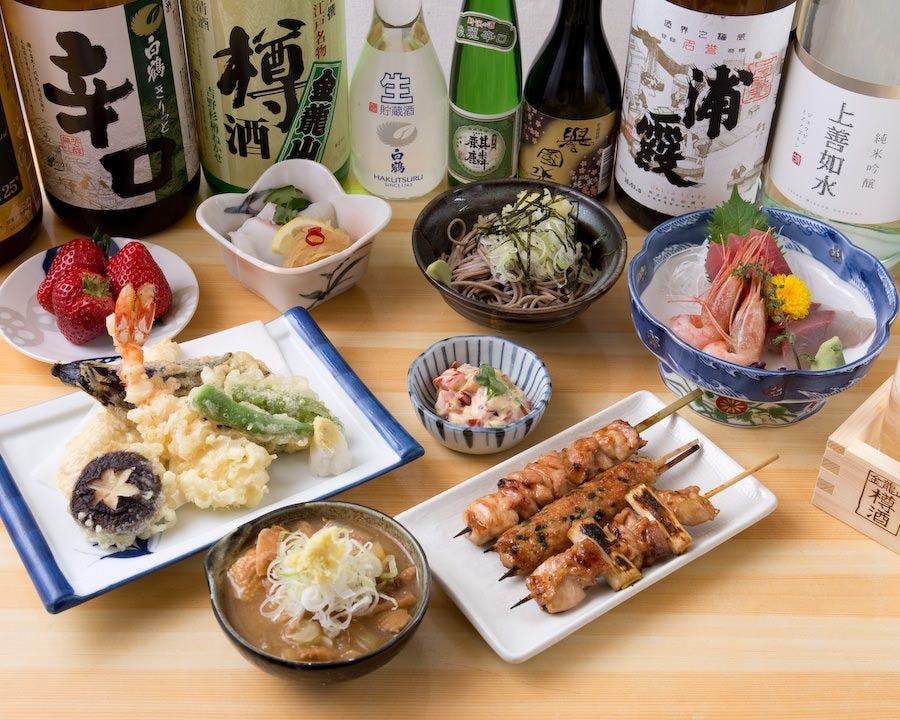 【ぐるなび限定】大人気選べる5種の鍋+ 鳥長名物 うなぎの蒲焼付 4,600円コース