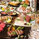 肉プレート&しゃぶしゃぶ 蔵元・日本酒と♪