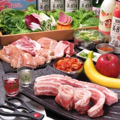 サムギョプサル 韓国料理 バブ 梅田店  コースの画像