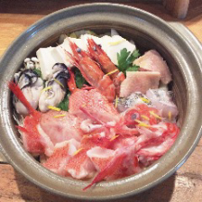 鍋料理と季節の逸品が並ぶ宴会コース