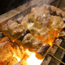 備長炭使用!!!強火で焼き上げる串焼