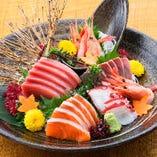 鮮魚盛り合わせ【東京都】