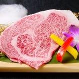 【5】和牛のリブロースステーキ