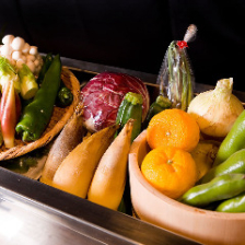 「安心・安全」新鮮な無農薬野菜使用