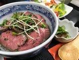 【川口フェスクーポリング×ツクツク限定メニュー】ローストビーフ丼