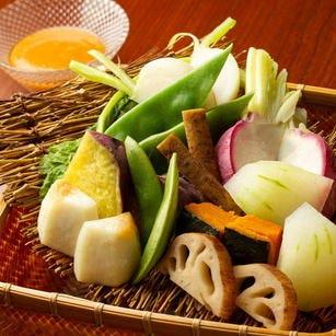 【当日可】2時間飲み放題付/旬の野菜堪能コース