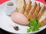 比内鶏のレバームース