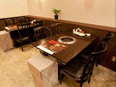 焼肉×カレー マスターキッチン 町屋店 店内の画像
