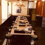 2階 テーブル個室【7名様~28名様まで】宴会、会食、女性同士のお集まりにどうぞ