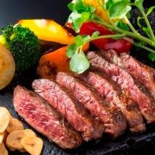 お昼から夜までいつでも肉を堪能♪