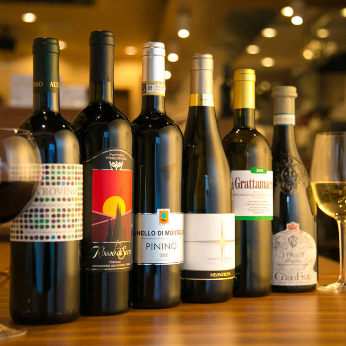 イタリア100%のワイン