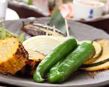 炭焼き野菜の盛り合わせ