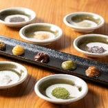 【さまざまな味わいもご用意】素材の良さを生かす調味料も◎