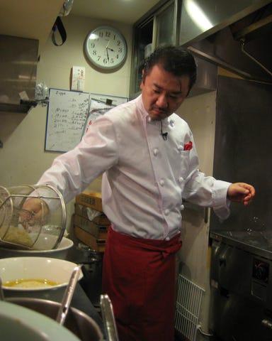 黄金の塩らぁ麺 ドゥエ イタリアン  こだわりの画像