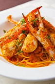 渡り蟹のSpaghetti